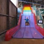 Tackling the giant Rainbow Slide