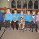 The Beavers are joined by Toothy, the Bristol South Beaver mascot