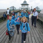 Beavers on the promenade