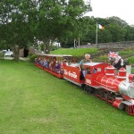 On the miniature railway