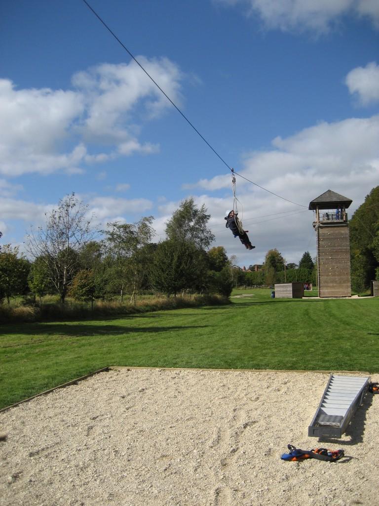 Zip Wire 255th Bristol Channel Sea Scouts
