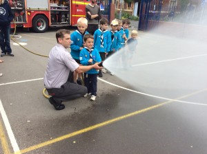 Visit from the Fire Service, May 2014